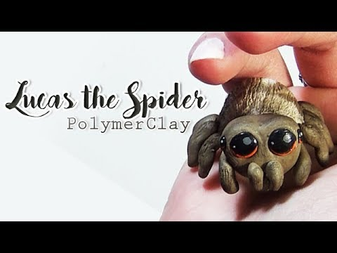 Comment LUCAS THE SPIDER | DIY lucas spider fanart polymerclay TUTO FIMO ?