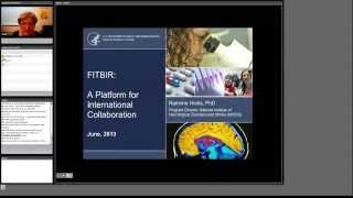 11 R Hicks (NINDS) - FITBIR Informatics System - a Platform for International Collaboration