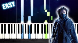 Alan Walker, Sabrina Carpenter & Farruko - On My Way - EASY Piano Tutorial by PlutaX