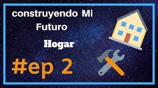 Construyendo Mi FUTURA casa En MINECRAFT/#EP 2/