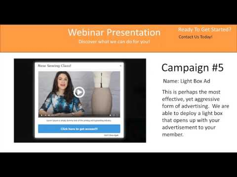 Membership Website Designs Templates Webinar