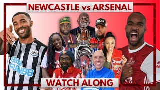 Newcastle vs Arsenal | Watch Along Live