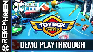 Toybox Turbos // PS3 Demo Gameplay - ReviewHaven Gaming