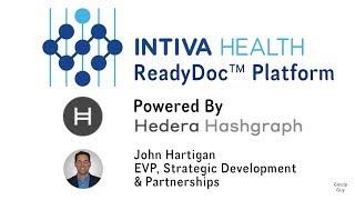 Intiva Health - ReadyDoc Platform Powered by Hashgraph