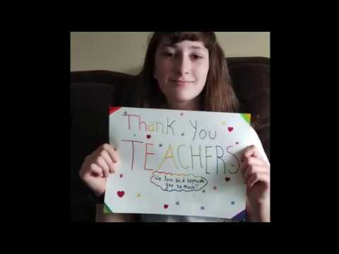 Samuel Slater Middle School Teacher Appreciation Week 2020