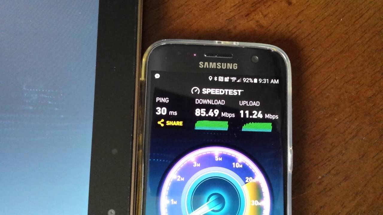 Verizon Galaxy S7 FoxFi Test