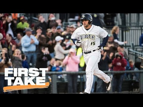 Tim Tebow's Stardom Greater Than Sports   First Take   April 7, 2017