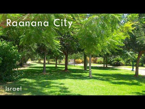 Walking In RA'ANANA City, Israel