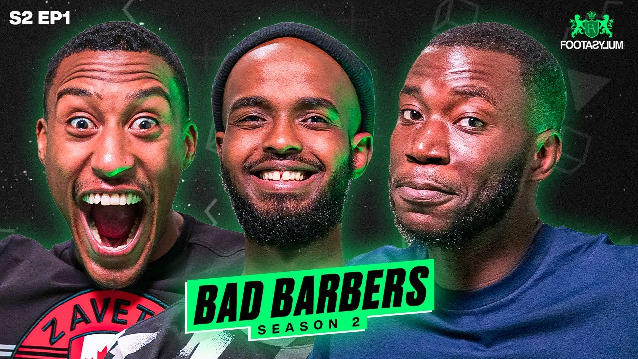 FILLY, DARKEST AND HARRY PINERO BARBER SHOP (GONE WRONG)   Bad Barber Ep 1