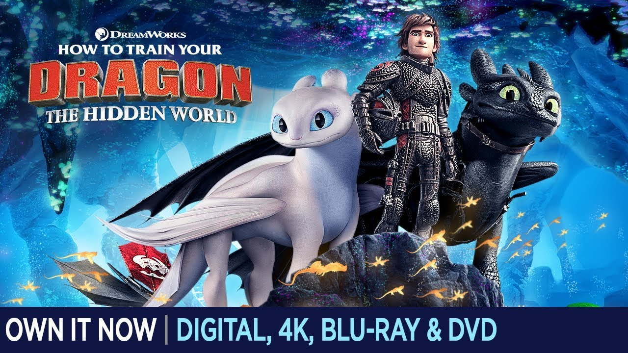 How To Train Your Dragon The Hidden World Trailer Own It Now On 4k Ultra Hd Blu Ray Dvd Digital Also Available On Demand