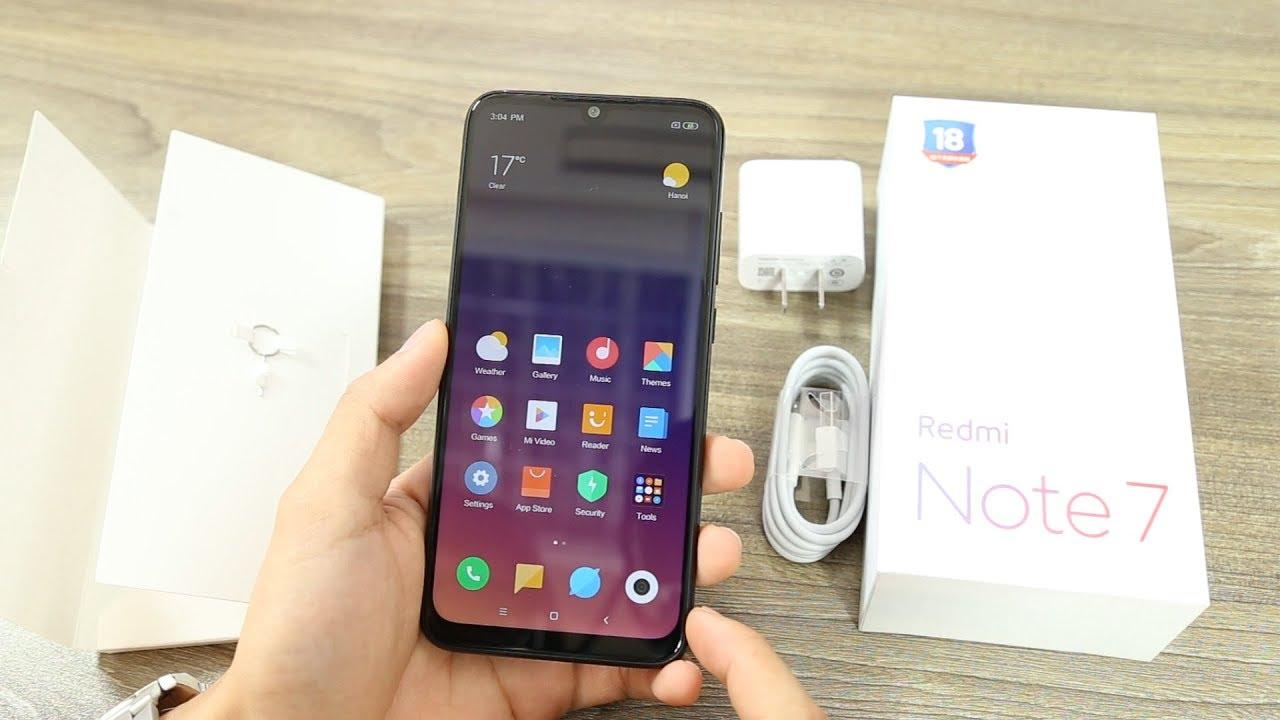 Mở hộp Redmi Note 7 GIÁ CỰC SỐC dưới 4 TRIỆU Camera 48MP