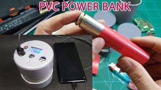 DIY a PVC Power Bank