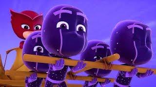 PJ Masks en Español - Buhíta y los Buhitinos! - Dibujos Animados