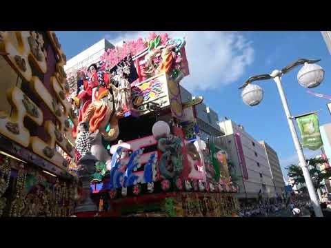 八戸三社大祭2019 合同運行「お通り」から