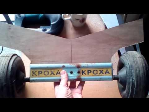 Тележка для перевозки байдарки своими руками. Kayak cart handmade.