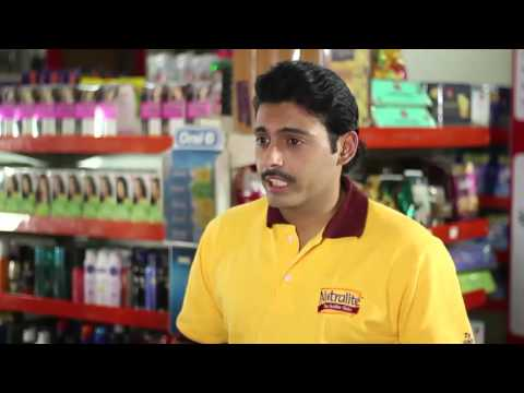 Actor Gaurav Devgan as Nutralite Sales Person