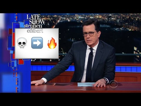 Stephen Deciphers The Teenage Emoji Code