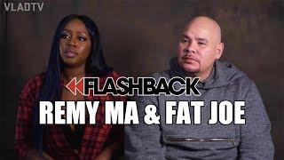 Remy Ma & Fat Joe on Getting Shot, Cut, & Stabbed (Flashback)