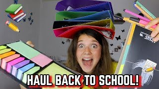 BACK TO SCHOOL HAUL 2018  || Valeria Vedovatti