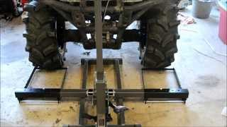 Tool Review: HARBOR FREIGHT  Pittsburgh Riding Mower / Atv Lift Jack 60395 / 61523