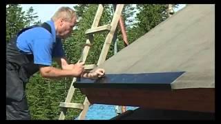 як зробити дах з черепиці