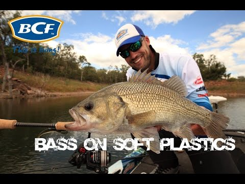 Bass Fishing - How To Catch Bass On Soft Plastics - Dean Silvester