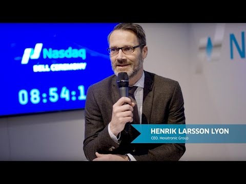 Nasdaq Stockholm welcomes Hexatronic to the main market