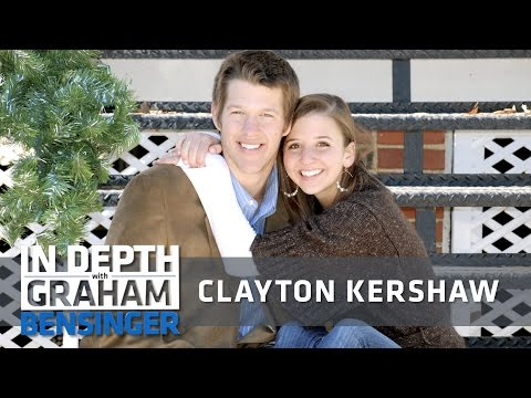 Clayton Kershaw on proposing to high school sweetheart