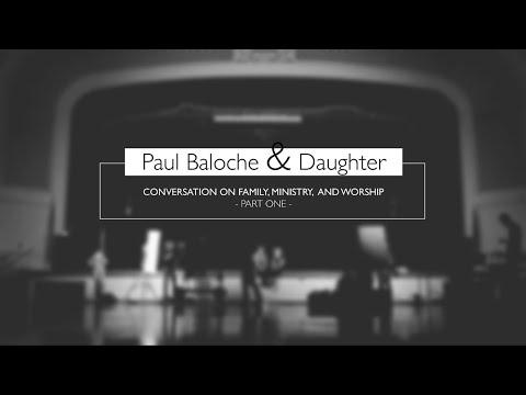 Paul Baloche & daughter Chérie