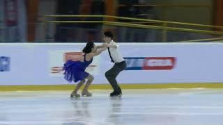 Yuka ORIHARA Kanata MORI JPN FD Senior Ice Dance Mentor Torun Cup 2018