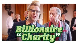 Billionaire Philanthropy Isn't That Selfless