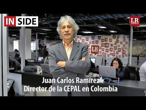 Juan Carlos Ramírez, director de la Cepal en Colombia