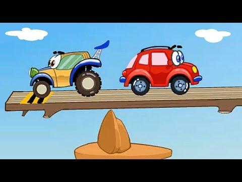 Машинка Вилли - Вилли спешит на гонки. Мультик игра.