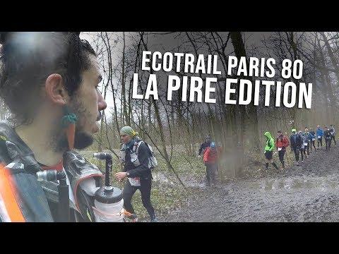2018 : LE PIRE ECOTRAIL DE PARIS 80 KM