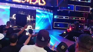 Andrade Cien Almas entrance Takeover Brooklyn III