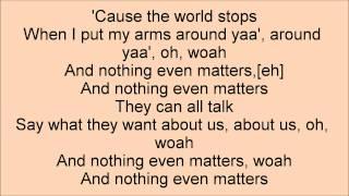Nothing Even Matters- Big Time Rush Lyrics Video-HD