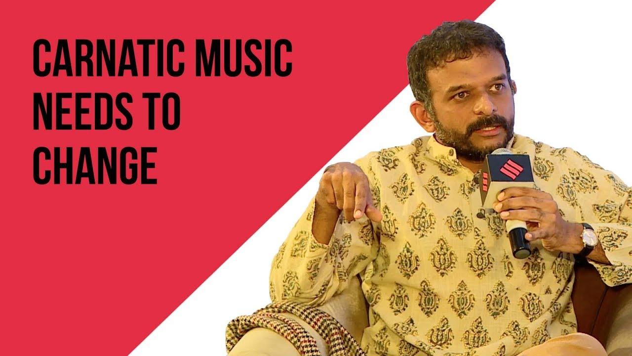 Presentation Is The Manifestation Of An Art. It is Not The Art Itself: Musician T.M Krishna