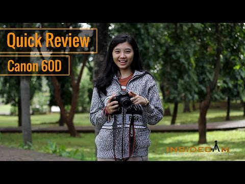 Canon 60D DSLR - Review Indonesia