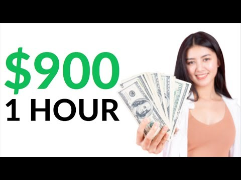 Earn $900 in 1 Hour for FREE On AUTOPILOT! (Make Money Online)