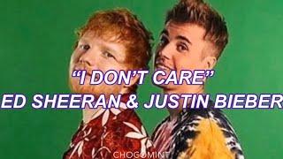 ★日本語訳★I don't care - Ed Sheeran & Justin Bieber