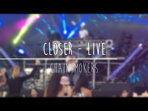 Closer - The Chainsmokers live at Veld...