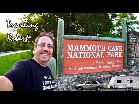 Mammoth Cave, Kentucky - Traveling Robert