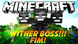 A Ilha Dos Zumbis!!! #WITHER!!! / FIM!!! ;-; [ft. PhoenixBR]