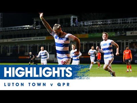 Luton QPR Goals And Highlights