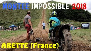 Montée impossible Hill Climb à Arette (France)