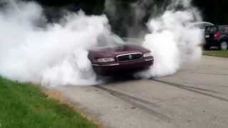 Buick lesabre burnout