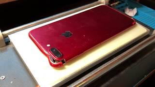 видео Замена стекла iPhone 7 Plus