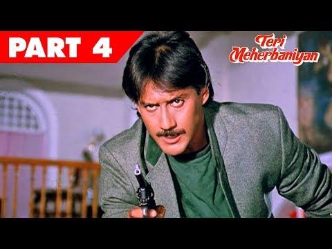 Teri Meherbaniyan | Hindi Movie | Jackie Shroff, Poonam Dhillon | Part 4