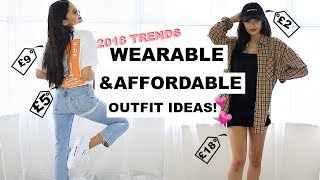 2018 Trends Wearable  Affordable Outfit Ideas