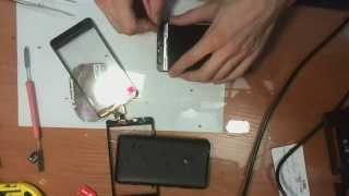Замена сенсорного стекла (тачскрина) Nokia Lumia 625, часть 1.(, 2014-09-08T10:50:30.000Z)